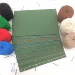 和綴じ作例:詩文集、綴じ糸の色替え