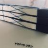 和綴じ作例:透明シートでカバーしたポートフォリオ
