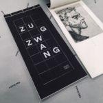 和綴じ作例:アートな作品集、天綴じ和綴じ